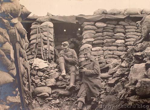 """Mindennapi """"stellungélet"""" a Doberdón 1916 tavaszán"""