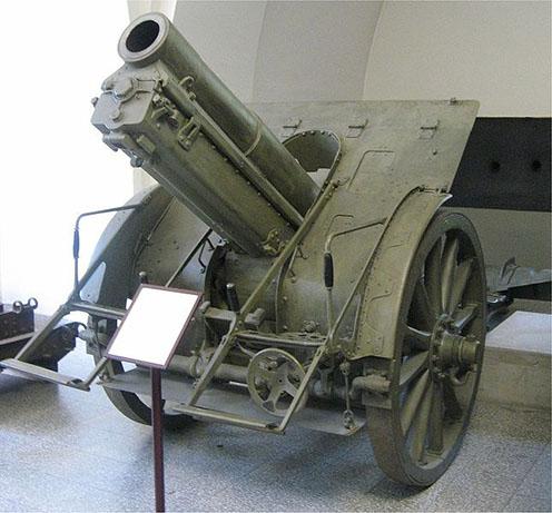 Osztrák-magyar 1914. M 15 cm-es nehéz tábori tarack