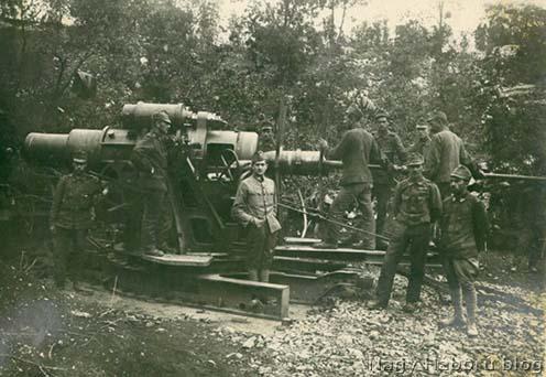 30 és feles egy Lipa mögötti dolinában 1917-ben