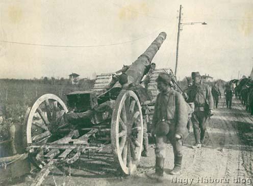 Előrenyomulás a Tagliamento felé. A pánikszerű olasz visszavonulás nyomai