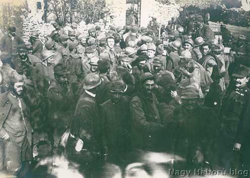 Olasz foglyok 1917 őszén