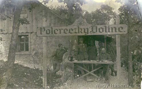 A szegedi 46/I. zászlóalj parancsnoksága 1916 tavaszán
