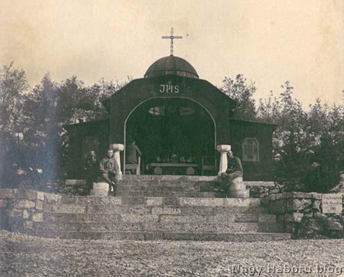 A Szent Márton kápolna a Segeti táborban
