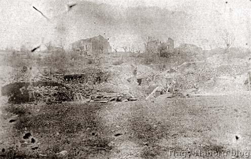 A II. zászlóalj parancsnokságának a dolinája San Martinóban 1916 tavaszán