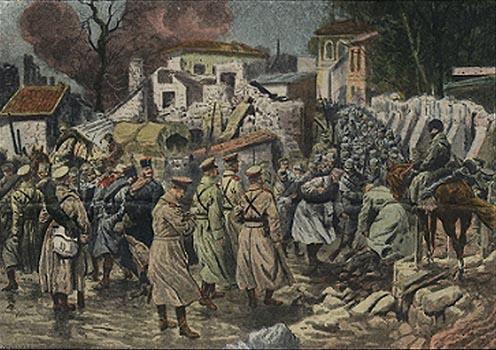 Az oroszok beveszik Przemyślt