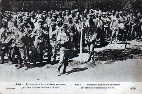Osztrák–magyar hadifoglyok Nišben 1914-ben