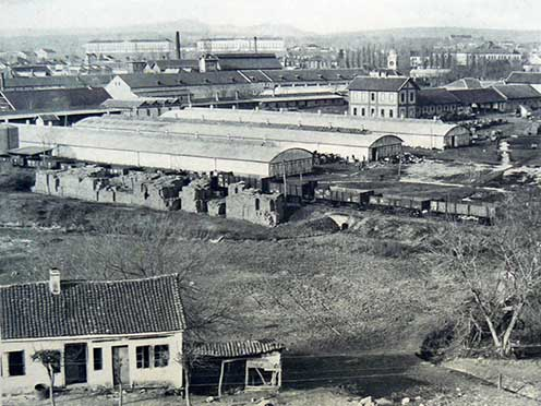 A kragujeváci arzenál látképe