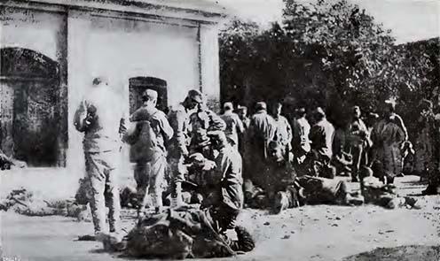 Osztrák–magyar hadifoglyok első étkezése