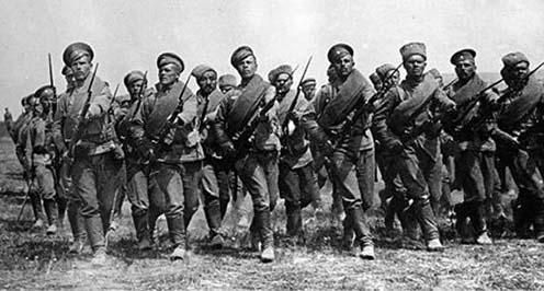 Kép a Bruszilov offenzíva időszakából