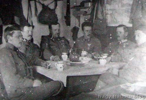 Poobedňajšie kávičkovanie a rozprávanie sa počas tichých dní – 9. február 1917.