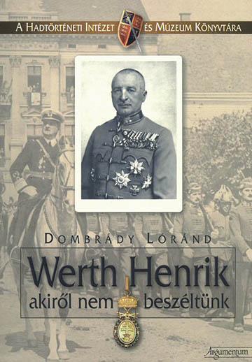 Dombrády Lóránd könyvének borítója