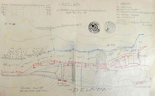 Az Orbán harccsoport helyzete 1915. május 30-án