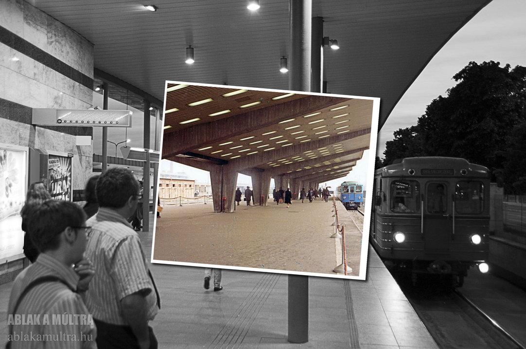 Budapest, XIV Örs vezér tere (Fehér út) metró végállomás fortepan_11105~1971-2011.jpg