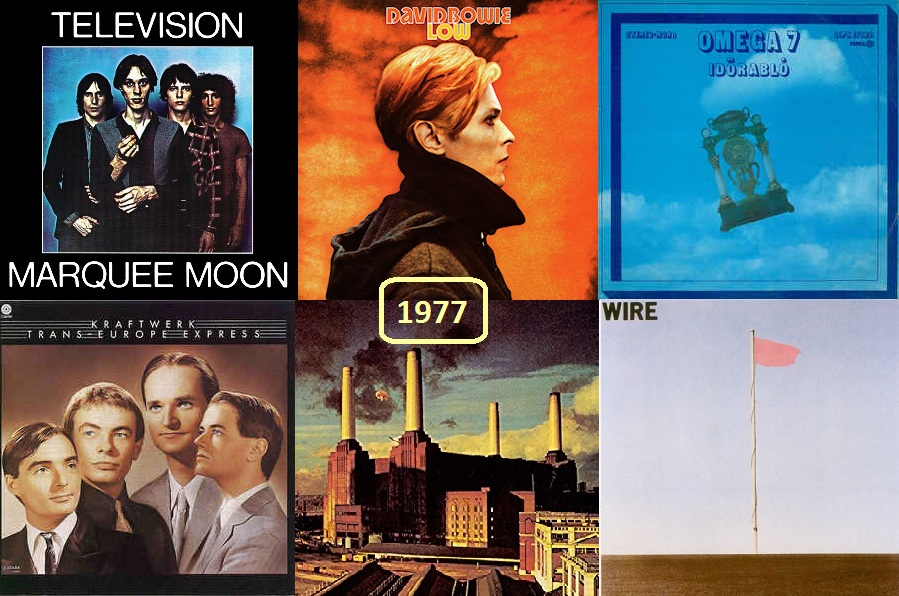 1977 szerintünk - 40 éve történt a könnyűzenében...