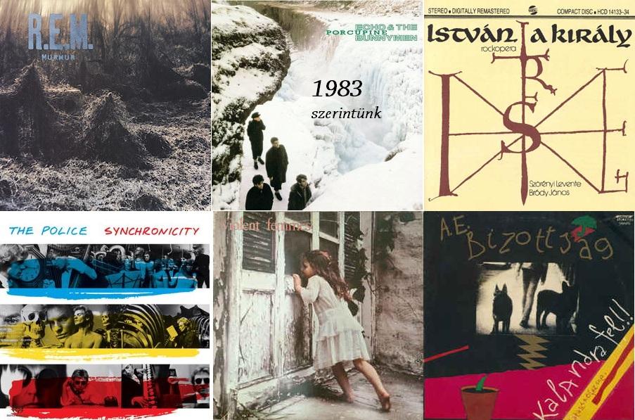 35 éve történt... 1983 - Nagylemez Blog Podcast