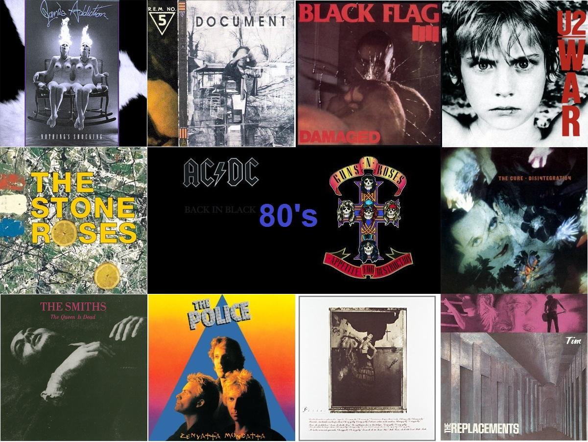 A 80-as évek legjobb Rock (!) albumai