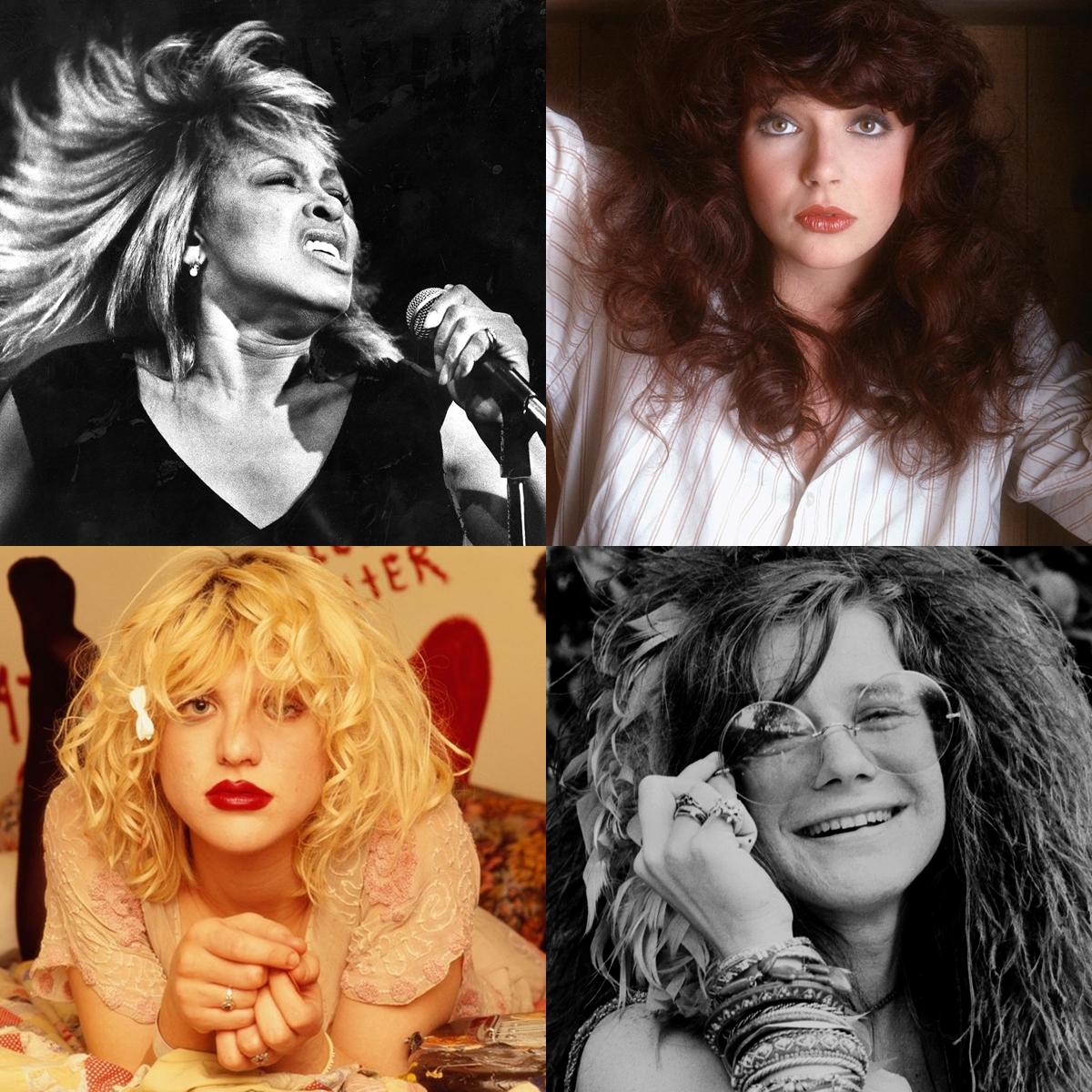 Rockladyk - 33 énekesnő a rockzene történetéből
