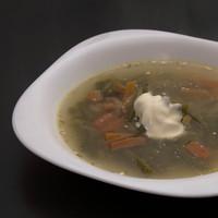 Zöld(ség) leves