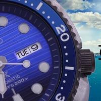 Seiko Save The Ocean projekt - A Turtle, a Samurai és egy solar chrono a kék bálna bőrébe bújt