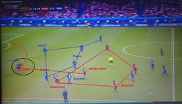 A francia-portugál Eb döntő góljának elemzése