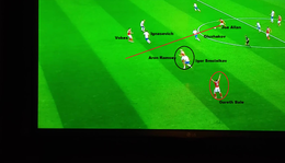Wales-Oroszország; a gólok elemzése