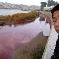 Szennyezett folyók, tavak Kína-szerte