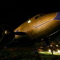 Open-air plane museum