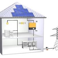 Napelemmel termelt áram tárolása