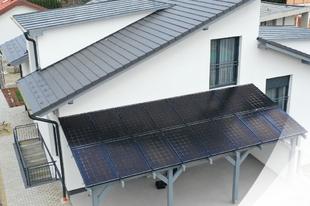 Napelem rendszer méretezése és tervezése új építésű családi házba
