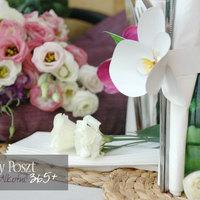 Százötvenedik nap: Papírorchideák