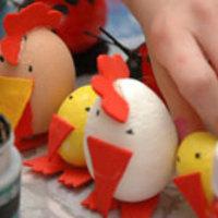 Baromficsalád tojásból