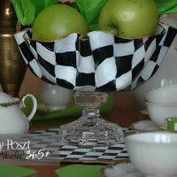 Kétszázötvenötödik nap: Sakkmintás asztalközép