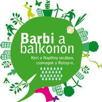 Barbi a balkonon