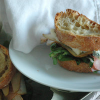 Körtés kéksajtos szendvics