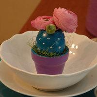 Pettyes húsvéti tojáshéjkaspó