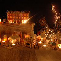 Karácsonyi mézeskalácsváros 2.0