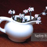 Tizenegyedik nap: Papír cseresznyevirágok