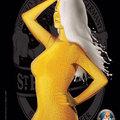 chica y cerveza