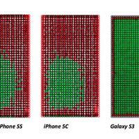 Az iPhone kijelzők nem olyan pontosak...