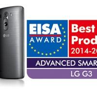 Az LG G3 okostelefon EISA díjat nyert