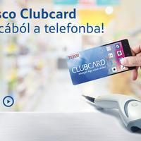 Tesco Clubcard applikáció