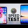 iPhoneX sebesség kihívók