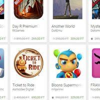 Google Play leárazások
