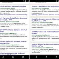 Google kereső mobilon: tesztelés alatt a színek