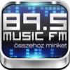 89.5 Music FM alkalmazás