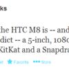 HTC M8 specifikációk láttak napvilágot