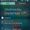 iOS appok Értesítési központ widgetekkel