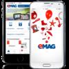 Megérkezett az eMAG mobil app
