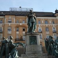 Szent Imre herceg - szoborcsoport