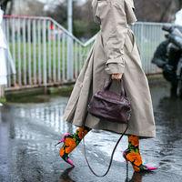 Párizsi divathét cipői az utcáról